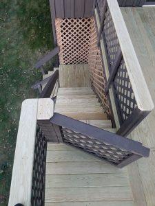 New Outdoor Stairway