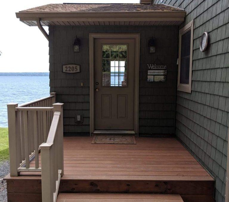 Entryway Deck