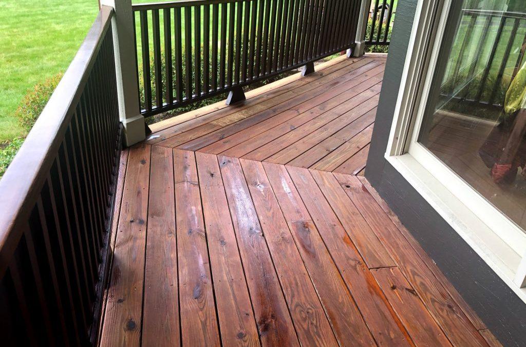Updated Porch Floor