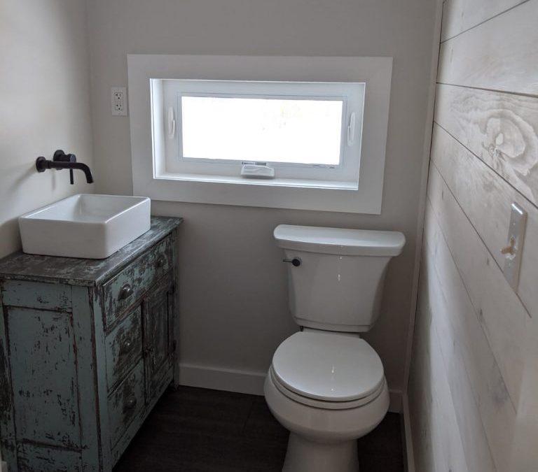 Closet to Bathroom Remodel