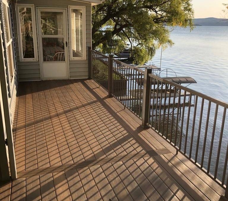 New Lake House Deck