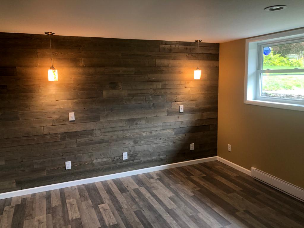 Bedroom remodel