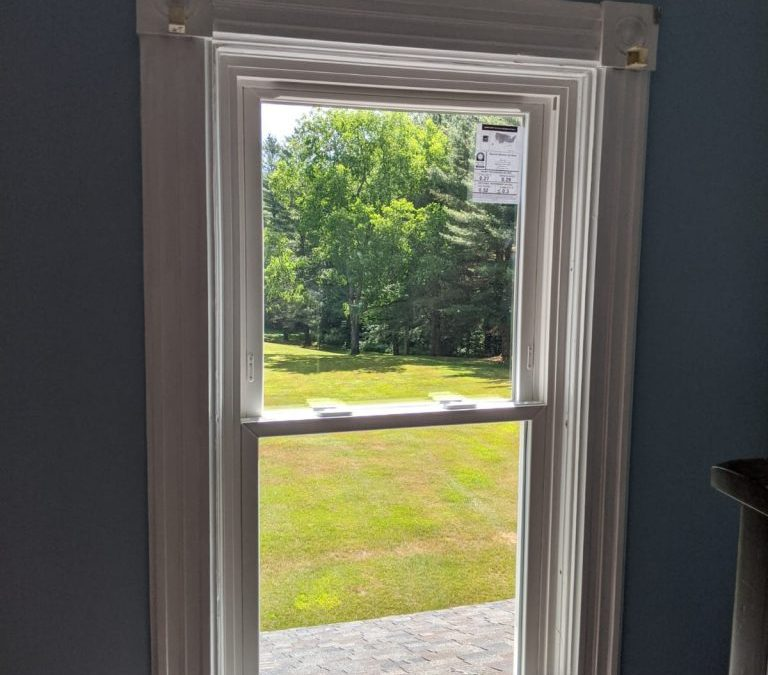 New Windows in Restored Home