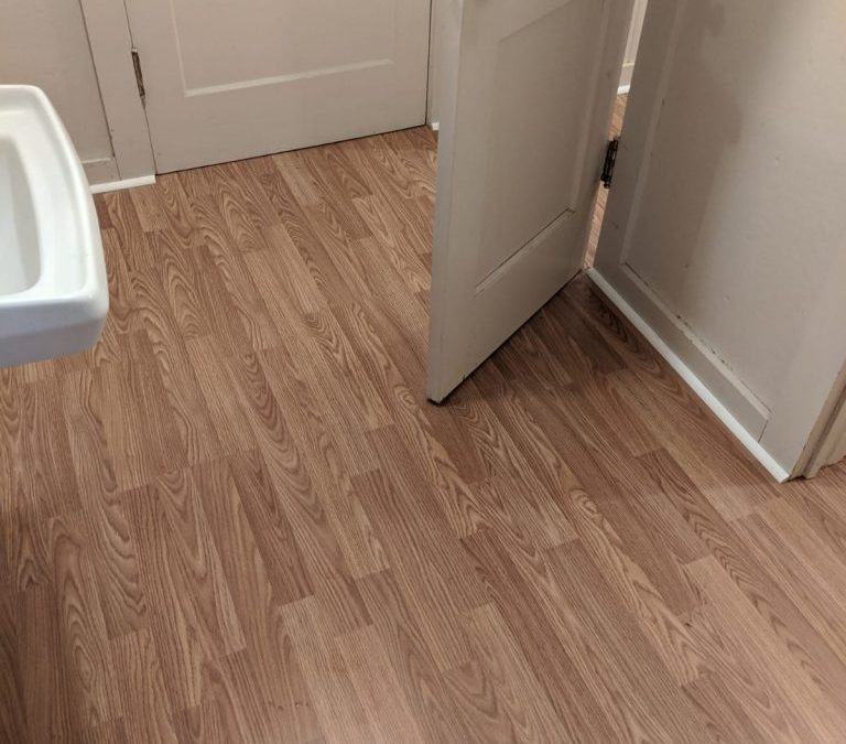 New Bathroom Flooring