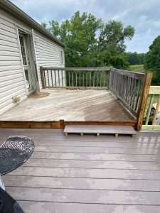 """""""before"""" porch remodel"""