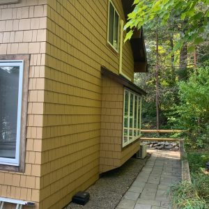 solid stain siding